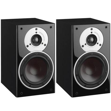 dali zensor 1 bookshelf speakers pair black ash