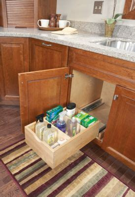 Pull Out Storage Medallion Cabinetry Just Make It Kitchen Sink Pull Out Drawer