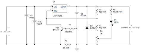 simple battery charger circuit diagram can a all purpose 2222 transistor replace a bc547