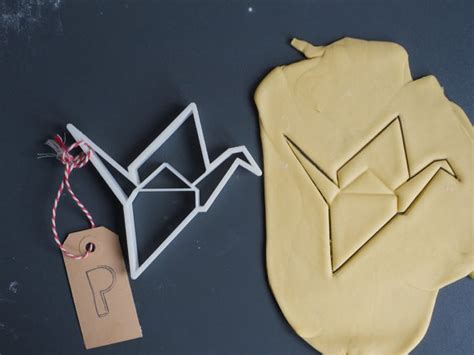 Origami Cutter - items similar to origami crane cookie cutter small 3d