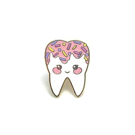 sweet tooth pink sweet tooth enamel pin hard enamel pin cloisonn 233 tooth