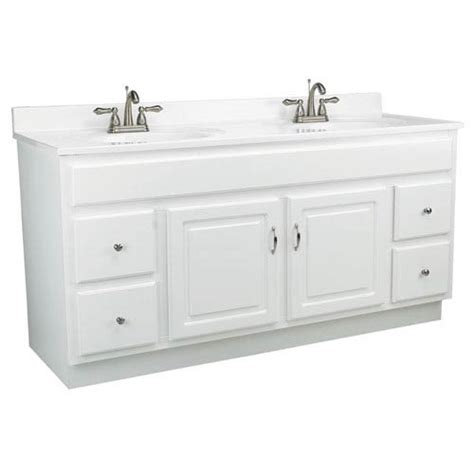 concord 60 inch white gloss vanity cabinet without top
