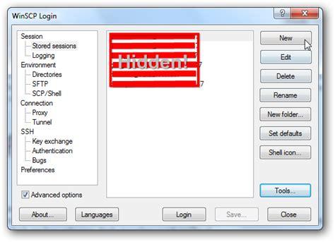 sftp default filezilla versus winscp as sftp software for rackspace
