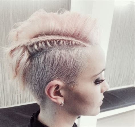 pixie braids shaved side amazing short pixie undercut with side swept bangs and