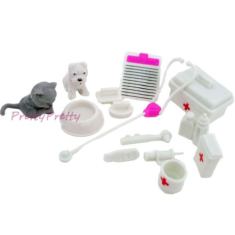 toys and accessories free shipping one set doll accessories kit doll pet toys for doll