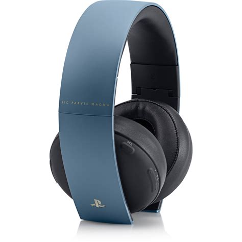 Sony Gold Wireless Headset sony playstation uncharted 4 limited edition gold 3001416 b h
