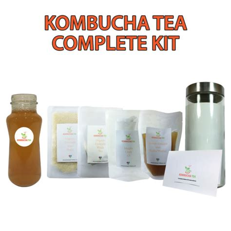 KOMBUCHA TEA   COMPLETE STARTER KIT   CLEANSING   ORGANIC/FAIRTRADE   SCOBY ? James Health 1000 Plus
