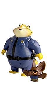Tomy Zootopia Clawhauser And Bat Eyewitness Zootopia Character Pack Clawhauser And Bat