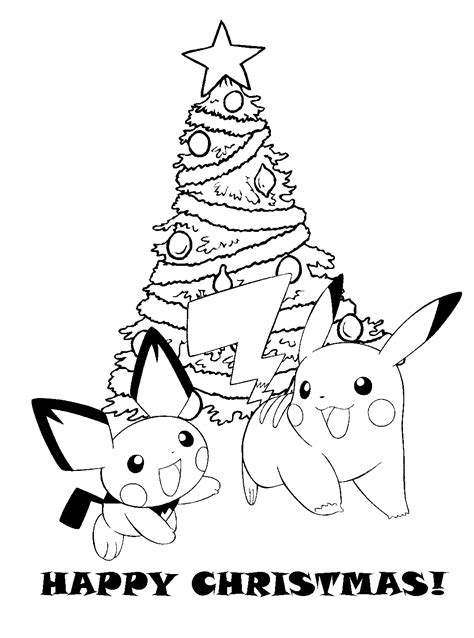 Pokemon Coloring Pages Christmas | pokemon coloring pages