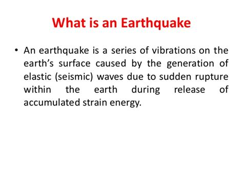 earthquake data earthquake information