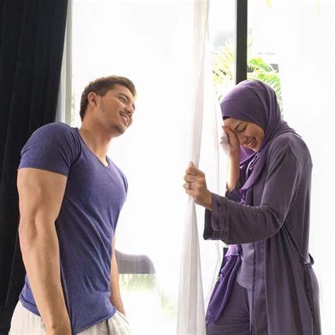 film malaysia fattah amin kru produksi akui neelofa dan fattah amin kelihatan selesa