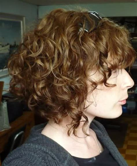 how to cut a aline bob on wavy hair self cut inverted bob with picture curltalk