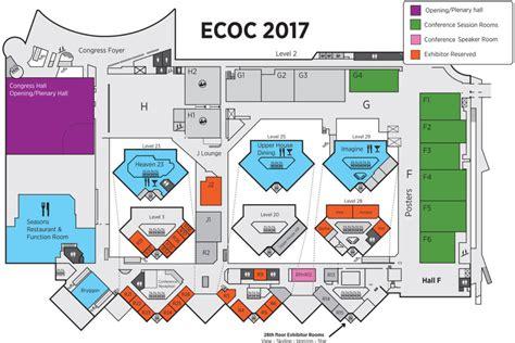 venue floor plan venue floor plan ecoc conference 2017