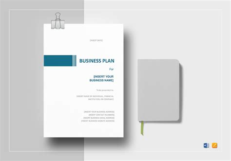 business plan template word 2007 microsoft business plan template 18 free word excel