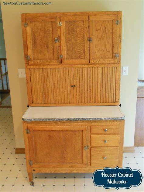 Sellers Kitchen Cabinet For Sale hoosier cabinet makeover newton custom interiors