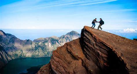 Kaos Gunung Rinjani Lombok 1 tracking gunung rinjani lombok rute pendakian gunung rinjani
