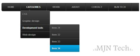 adding css3 multi level drop menu for how to add animated css3 multi drop menu for