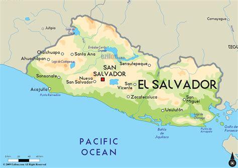 map of el salvador el salvador mid term election march 1 2015