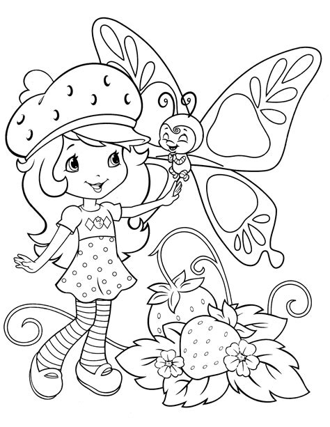 Strawberry Shortcake 62 Coloringcolor Com Coloring Pages Strawberry