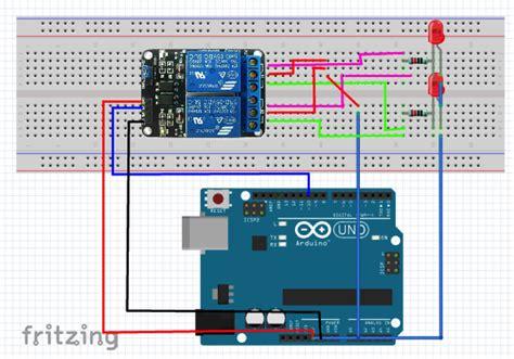 arduino code for relay 2 channel relay module summerfuel robotics