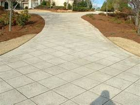 Cut Concrete Patio by A Diamond In The Rough Hemma Stamped Concrete Driveway