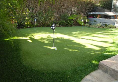putting green in your backyard artificial grass putting greens nomow turf