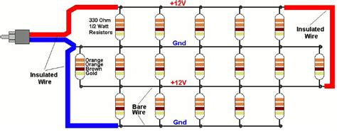 how does a resistor array work resistor array diy 28 images arduino simplifying a relay network electrical engineering