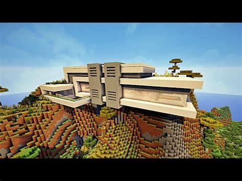 maison montagne minecraft minecraft maison moderne dans une montagne by makapuchii