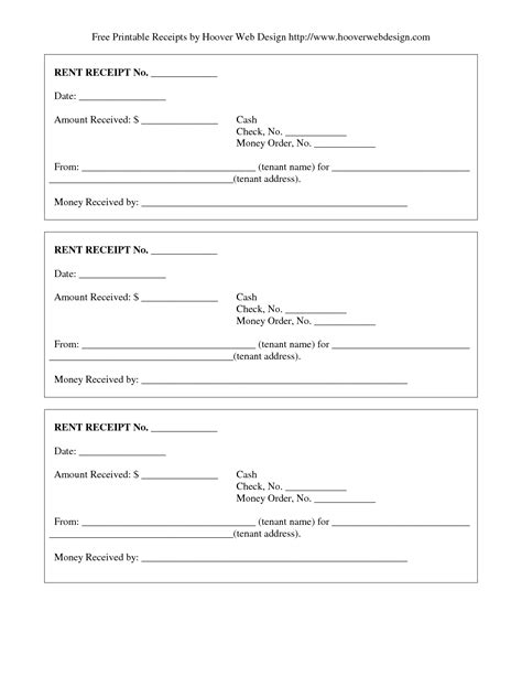 fill in receipt template best photos of fill in blank rent receipt money rent
