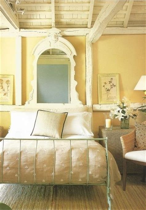 Light Yellow Bedroom by Heavenly Cottage Bedroom In Pale Yellow