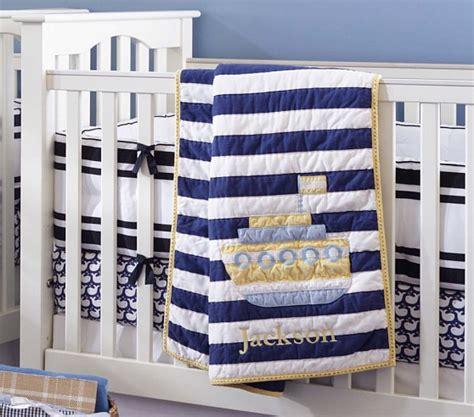 Boat Crib Bedding by Oceanside Boat Nursery Bedding Set Crib Fitted Sheet