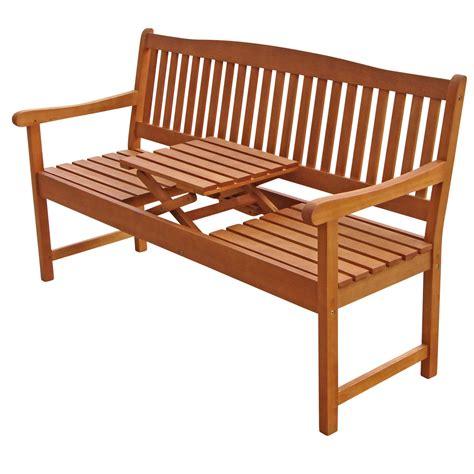 Holzbank Mit Tisch by Gartenbank Holz Mit Tisch Tentfox