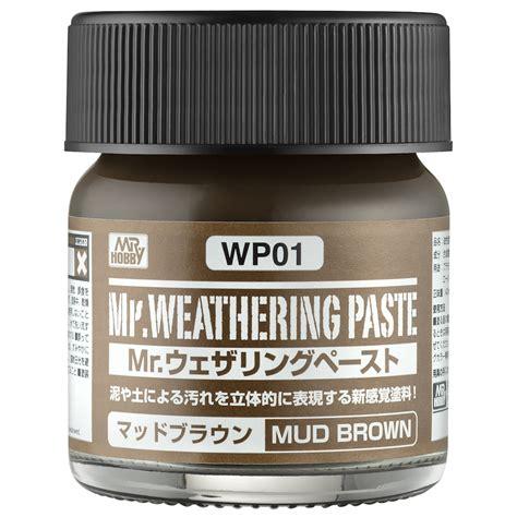 Diskon Mr Weathering Color 01 wp01 mr weathering paste mud brown mr hobby wp 01