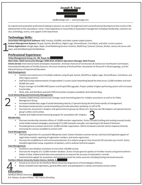 Resume Summary Format by How To Write A Career Summary On Your Resume Recentresumes