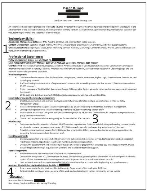 how to write a professional profile resume genius