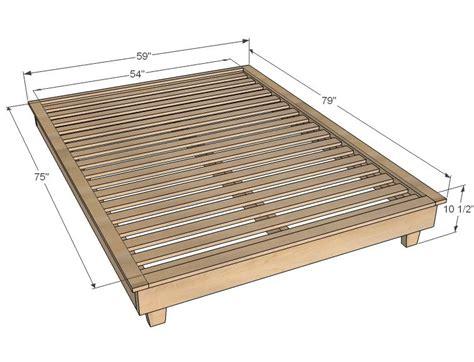diy platform bed diy platform bed bed frame plans diy