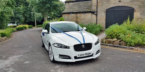 Wedding Car Jaguar Xf by White Wedding Car Hire White Wedding Car Kent White