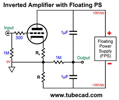 floating resistor more triode lifiers