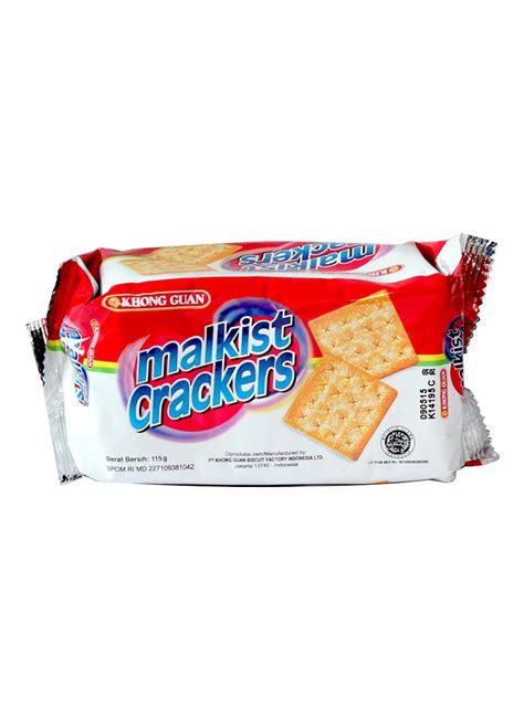 Khong Guan Crackers khong guan crackers malkist pck 115g klikindomaret