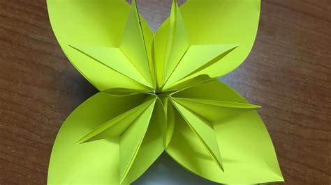 Easy Origami Kusudama Flower - how to make origami kusudama flower diy easy flower