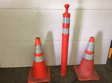 candle construction construction cones 2 1 candle stick construction cone june tools fishing and household
