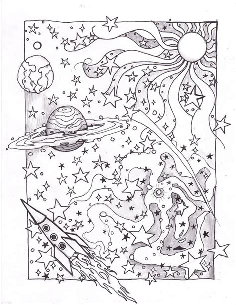 stargazer space colouring book coloring space page by http usedfreak88 com