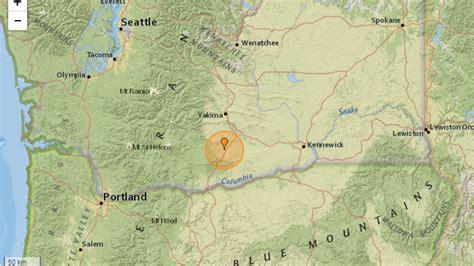 earthquake yakima a 3 4 magnitude earthquake shakes satus pass kima