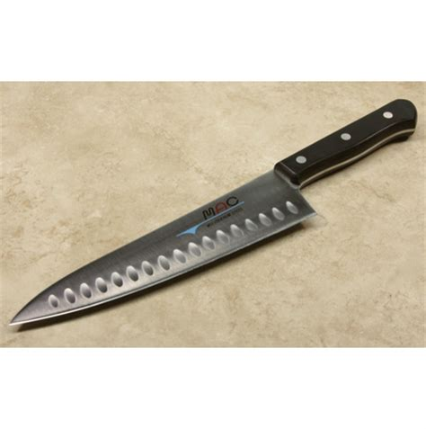 mac 8 quot chef s knife mac chef s series 8 quot dimpled chef knife