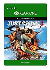 amazon xbox one games amazon com just cause 3 xbox one digital code video games