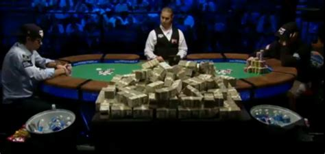 boiled 2010 wsop event table