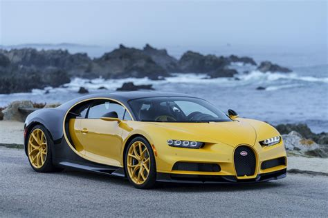 price of the bugatti the bugatti chiron in the us is yellow roadshow