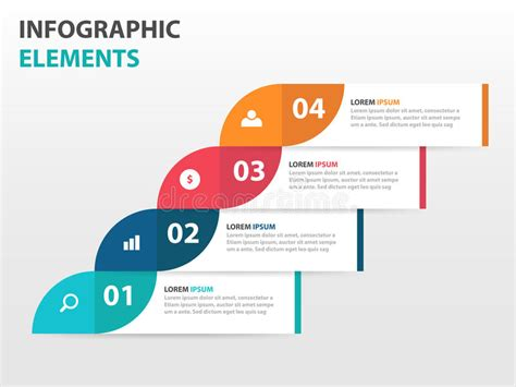 banners flat design elements vector 18 abstract label business timeline infographics elements