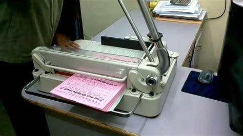 Paper Cutting A3 manual paper cutting machine