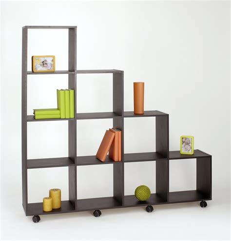 librero de nichos librero moderno con 10 nichos chocolate env 237 o gratis